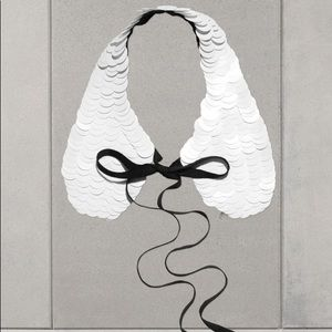 MARNI x H&M Sequin Collar + Box NIB